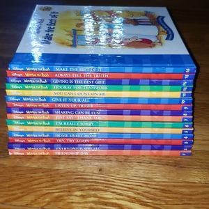 Winnie the Pooh books (15 total)